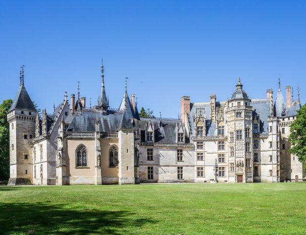 Façade renaissance du Château de Meillant