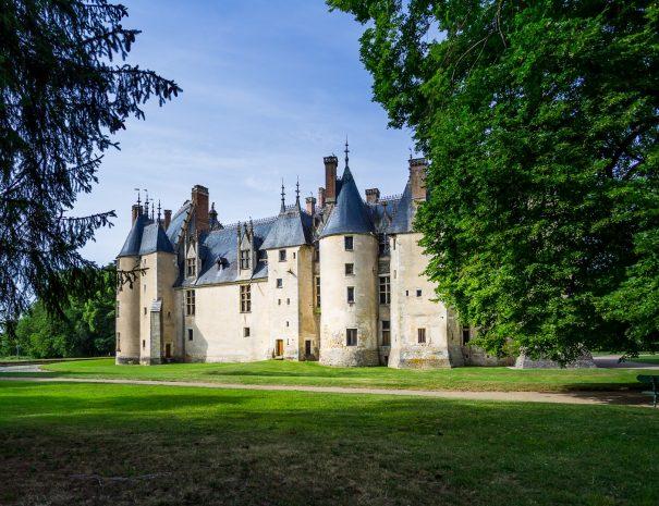 Chateau medieval meillant