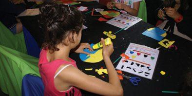 atelier pour enfants au château de Meillant