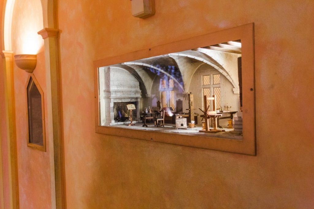 Musée miniature intérieur Meillant