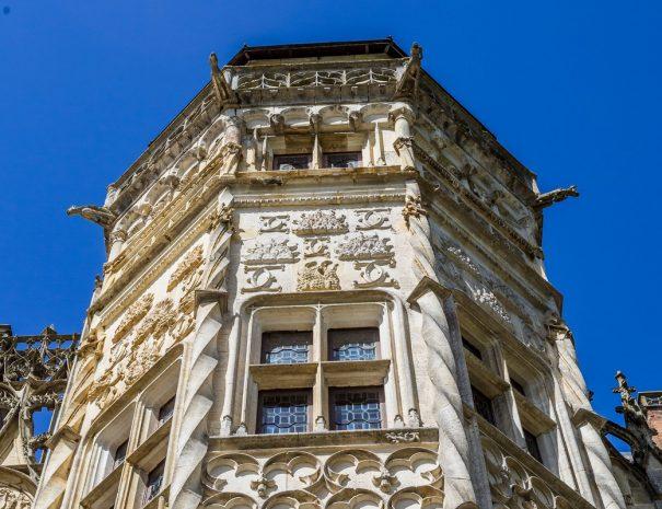 La tour du Lion du château de Meillant