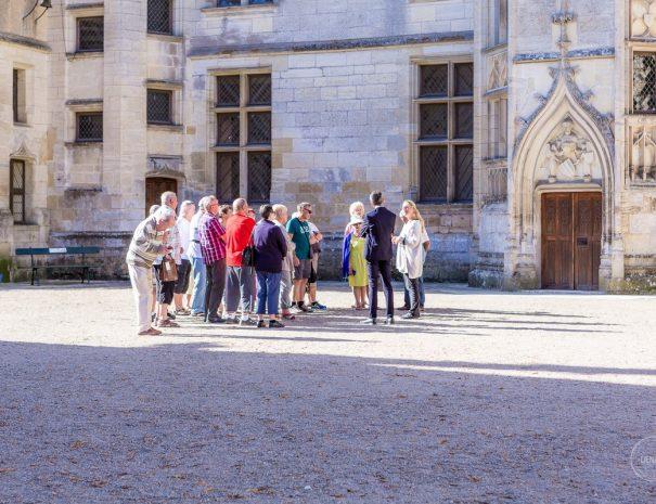 Visites guidées au chateau de Meillant