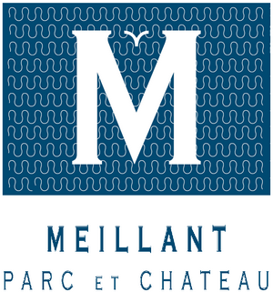 logo château de Meillant fond blanc