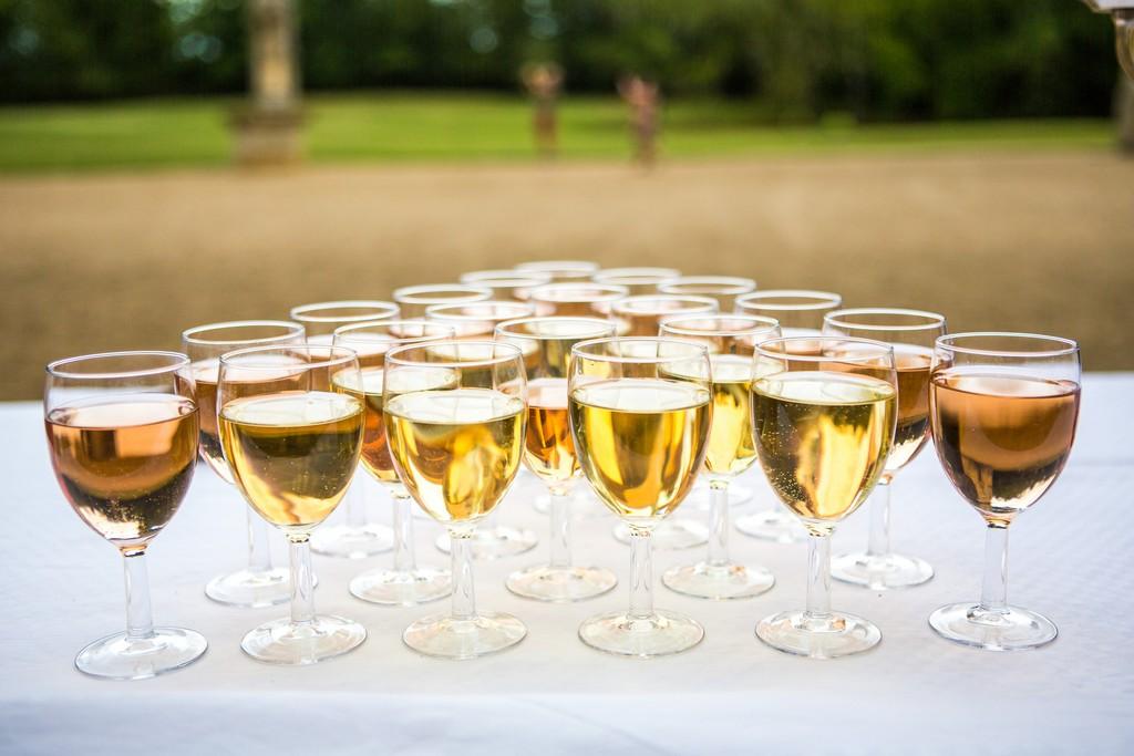verre de champagne château de Meillant