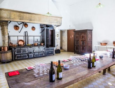 cuisine d époque château de Meillant