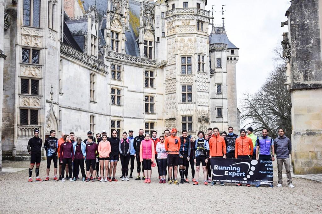 running expert chateau de Meillant