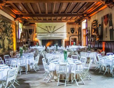 Salle des gardes pour dîner de mariage Meillant