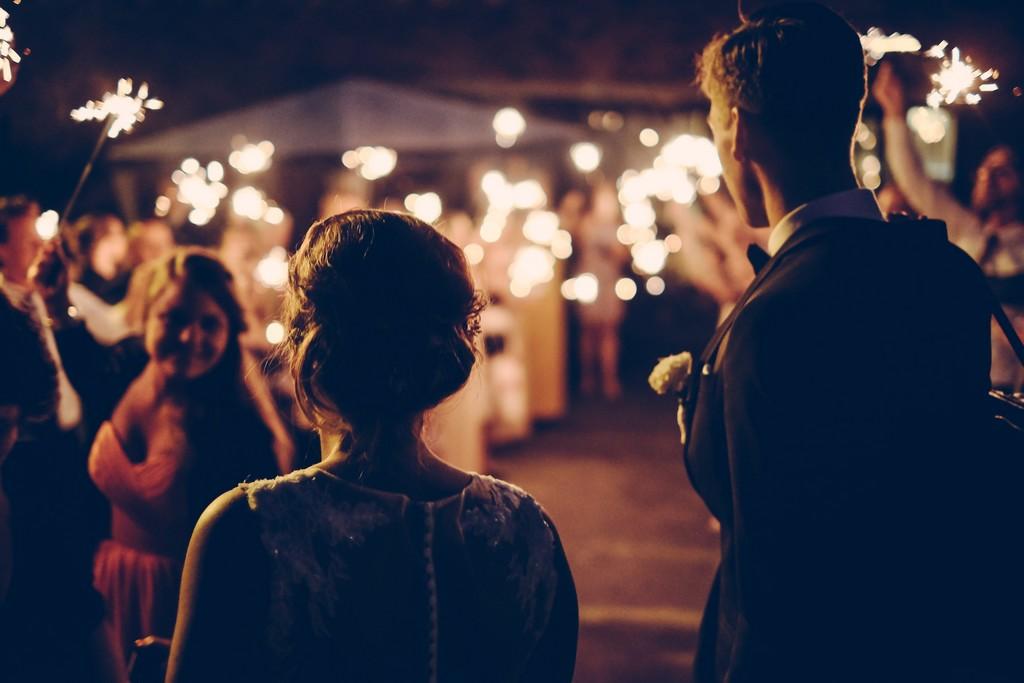 wedding on château de Meillant