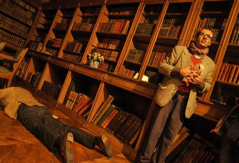 Meurtre dans la bibliothèque du château de Meillant