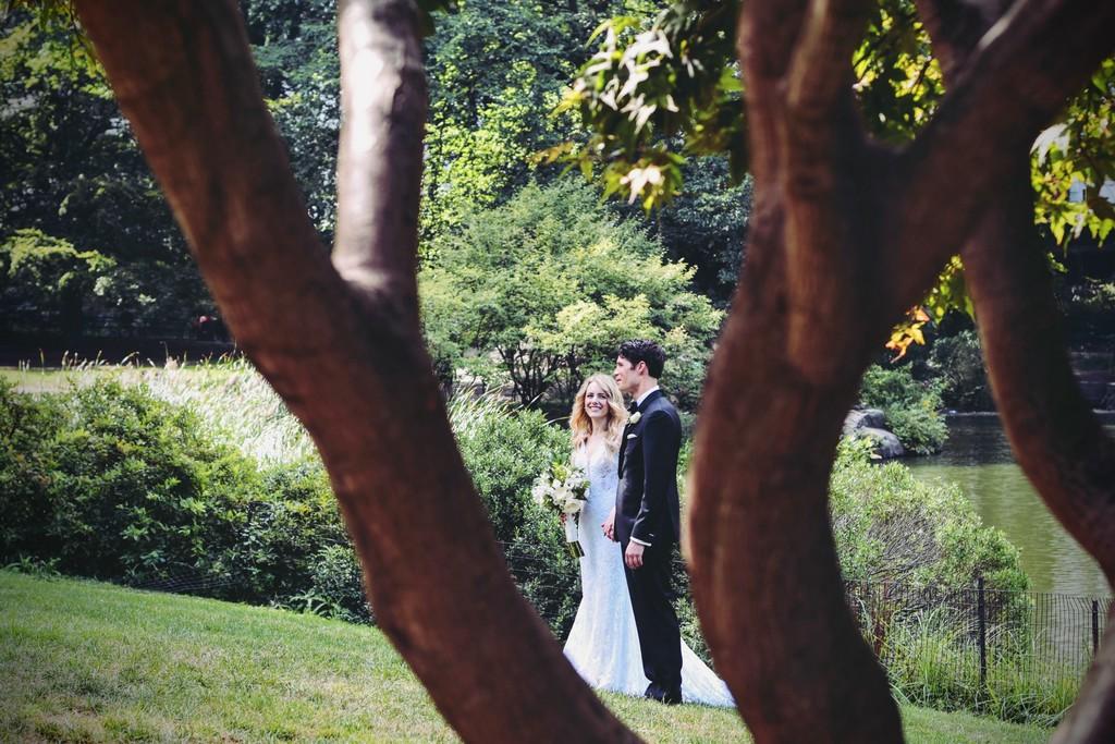 photos des mariés Château de Meillant